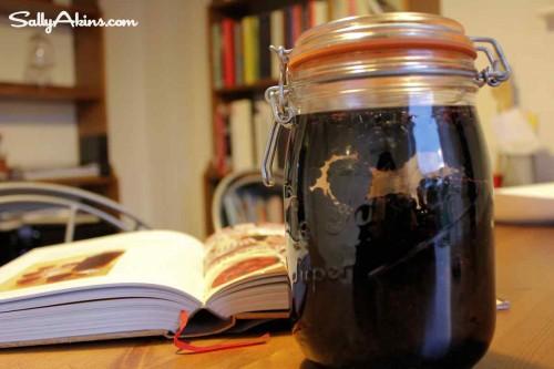 Blackberry Vodka from Nigella Lawson 'Kitchen'