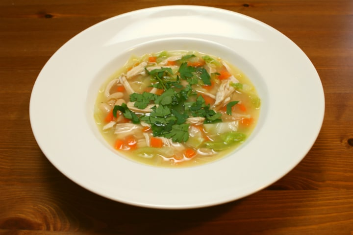Chicken and Cannellini Soup