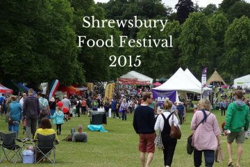 The Shrewsbury Food Festival had such a lot to see and do, that it's hard to condense it into a single post.