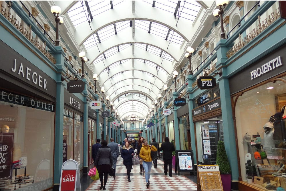 Find out about the Great Western Arcade - one of Birmingham's Hidden Gems
