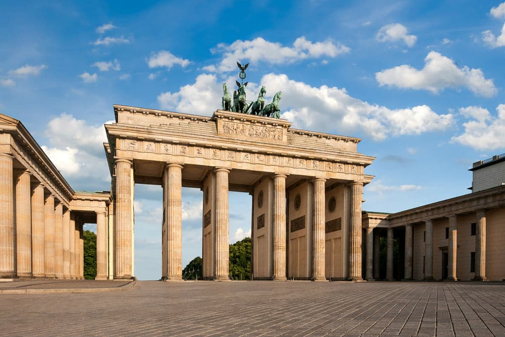 The Brandenburg Gate in Berlin - one of my travel destinations for 2017