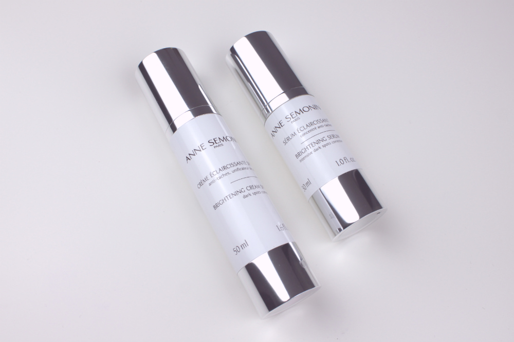 Read my review of Anne Semonin Brightening Serum and Cream - premium skincare which I found delivers excellent results (#ad)