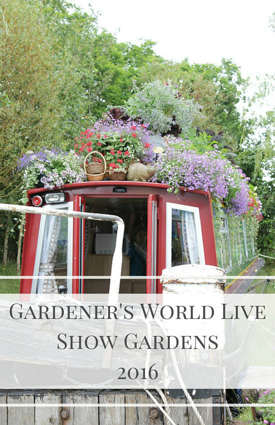 Take a look at my pick from the show gardens at the Gardener's World Live Exhibition, held at the NEC Birmingham in June 2016