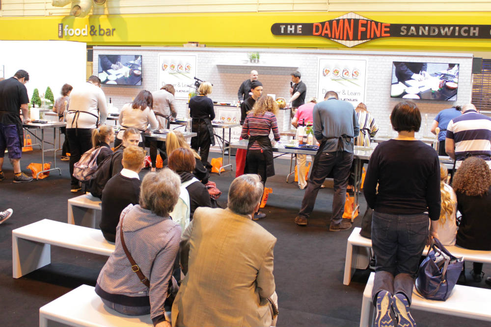 An example of the masterclasses on offer at the Good Food Show Summer 2016, held at the NEC Birmingham in June 2016