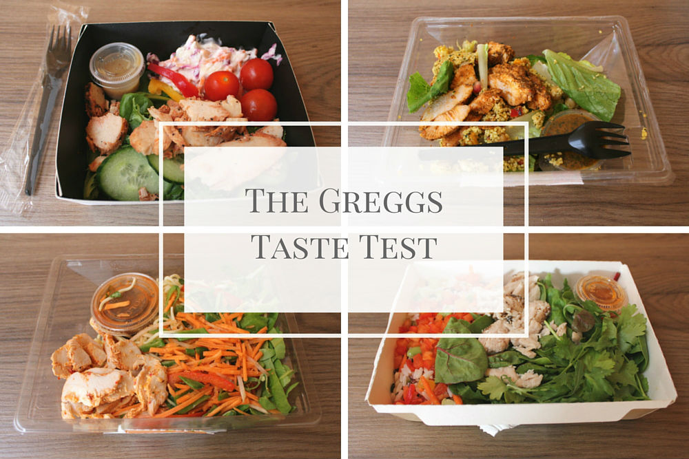 I was in for a surprise when Greggs challenged me to put their salads to the taste test, comparing them to three of their high-street rivals #spons