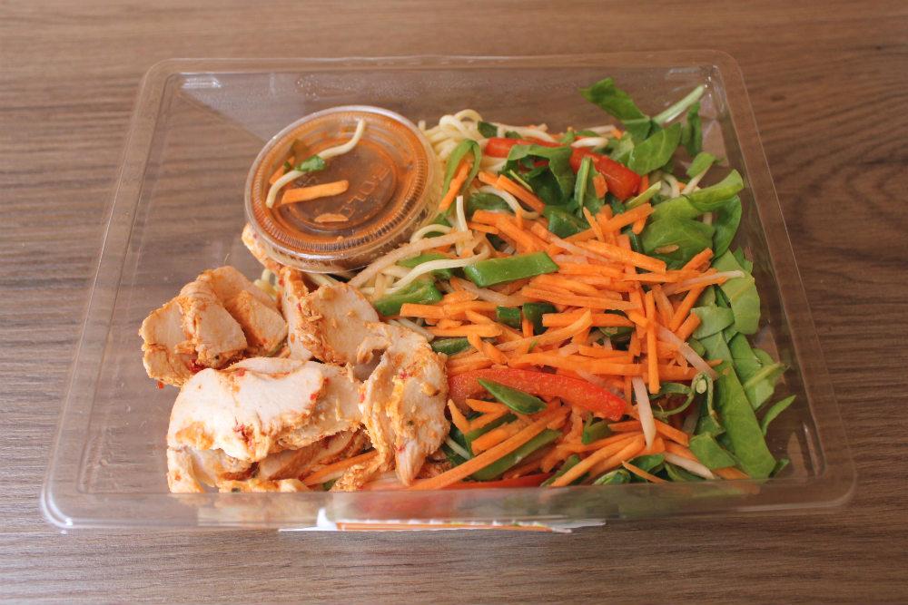 Marks & Spencer Sweet Chilli Chicken Noodle Salad