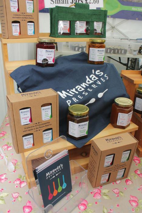 Miranda's Preserves at the Shrewsbury Food Festival, June 2016