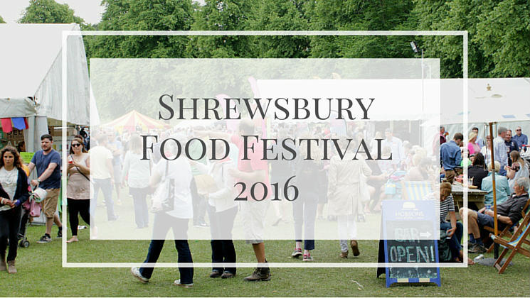 Take a look at my review of the Shrewsbury Food Festival - a great day out, full of delicious things to eat and drink.
