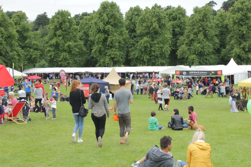 The Shrewsbury Food Festival was a fun day out in June