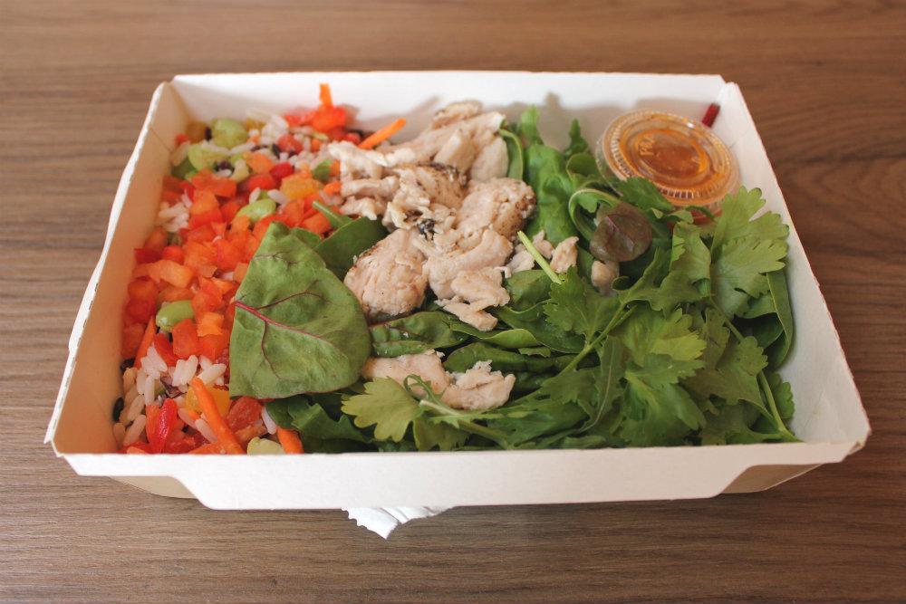 Starbucks Rainbow Salad