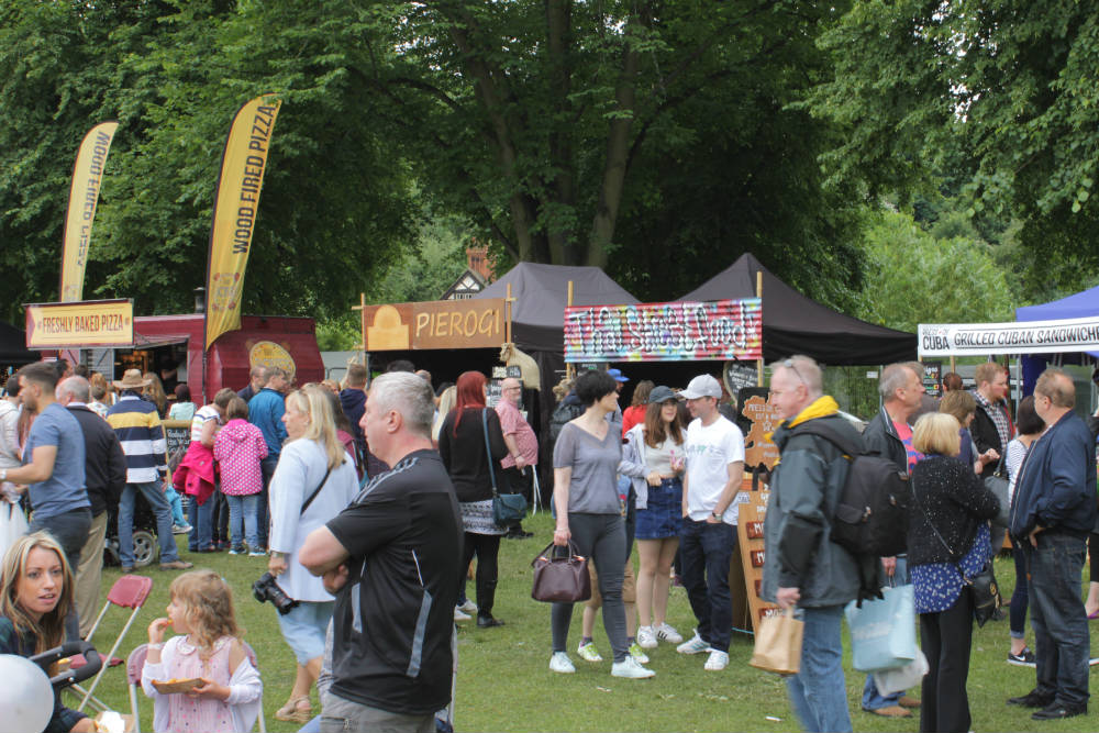 Take your pick from foods from all around the world at the Shrewsbury Food Festival, June 2016