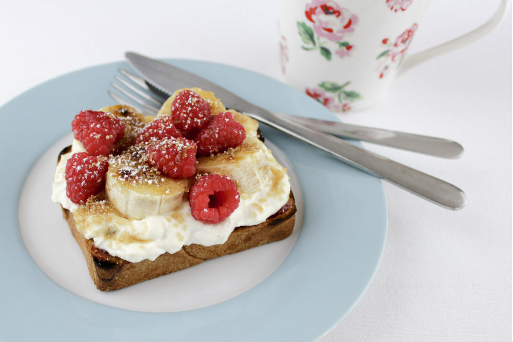 Celebrate the Bank Holiday weekend, and spoil yourself with my leisurely Banana Brunch Bruschetta recipe.