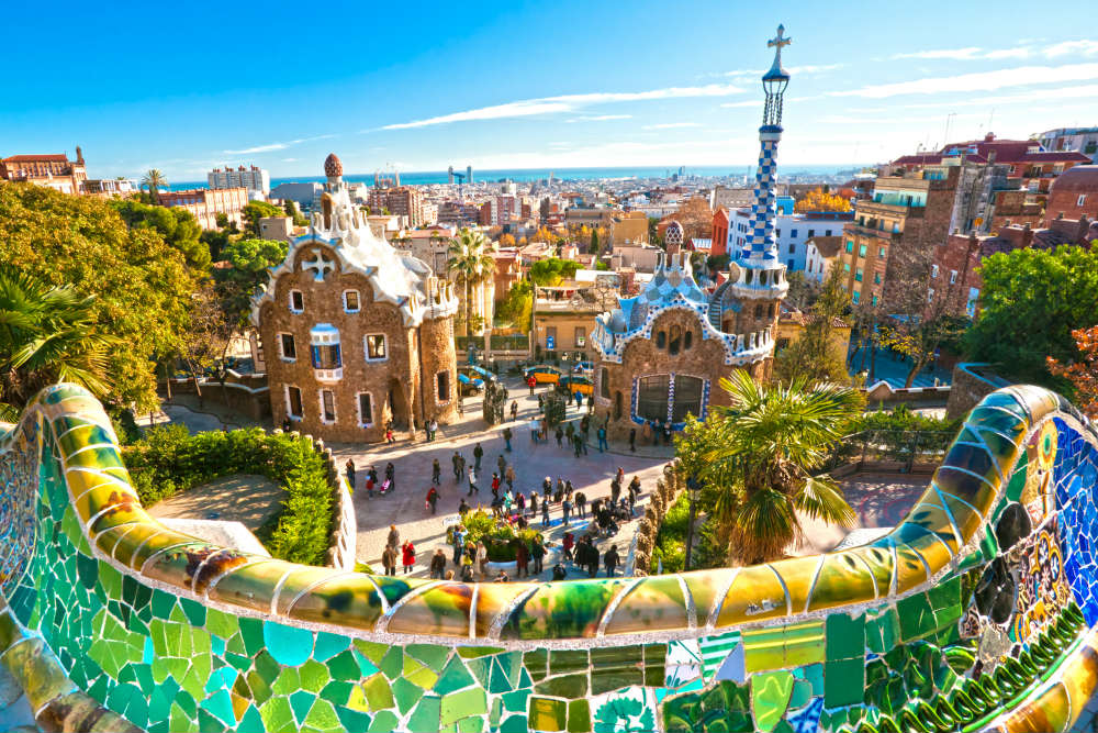 Colourful Barcelona would be a fab place to visit for a city break in Spain