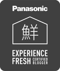 Panasonic Experience Fresh certified blogger badge