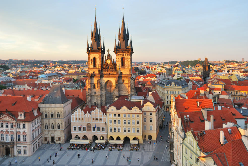 The Czech capital Prague would be a fantastic destination for a city break