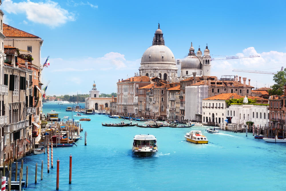 Venice in Italy - a great destination for a city break