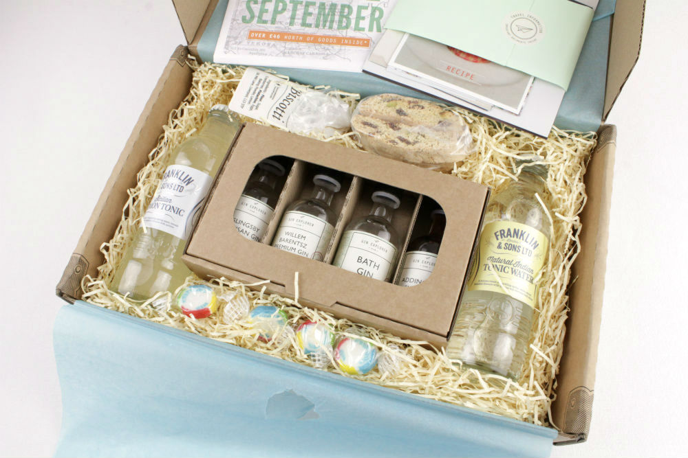 The Gin Explorer subscription box is a great way to try out some unfamiliar gins