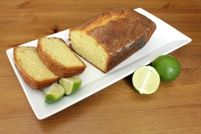 My Gin and Lime Drizzle Cake is a lovely and very grown up cake to have with a cup of coffee in the afternoon, or even better with a G&T! #ad