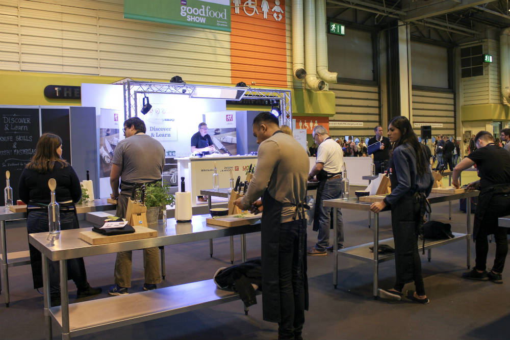 Opportunities to Discover and Learn at the BBC Good Food Show at the NEC Birmingham in November 2016