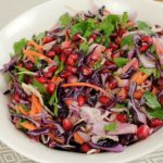 Sweet and crunchy with a delicious nutty dressing, my Winter Slaw is a great addition to your table throughout the colder months