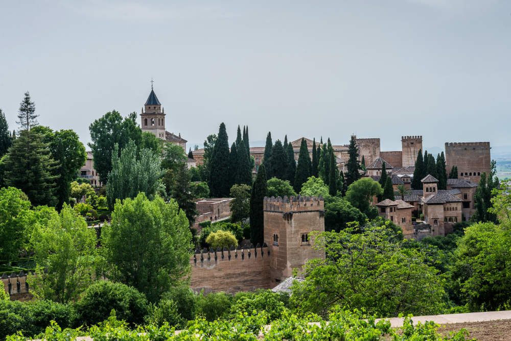 Alhambra Palace in Spain - one of my travel destinations for 2017