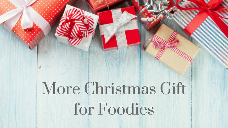 The BBC Good Food Show is always a great place to go Christmas shopping, and I found some fab ideas for foodie gifts while I was there.
