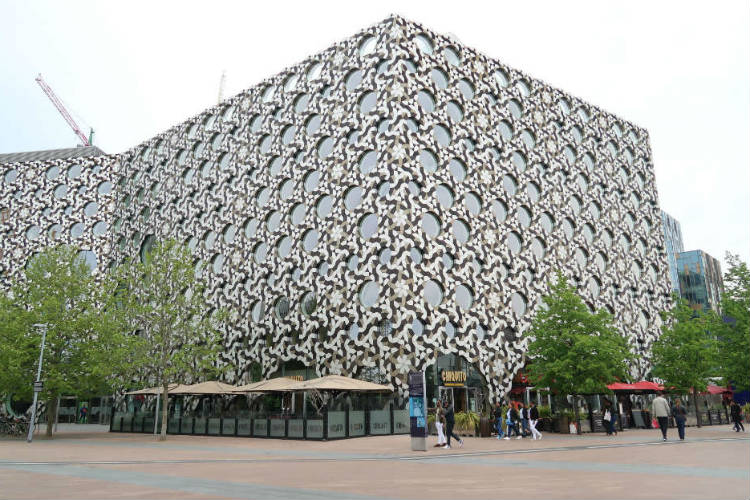 The Ravensbourne building in London, venue for the Traverse conference 2017.