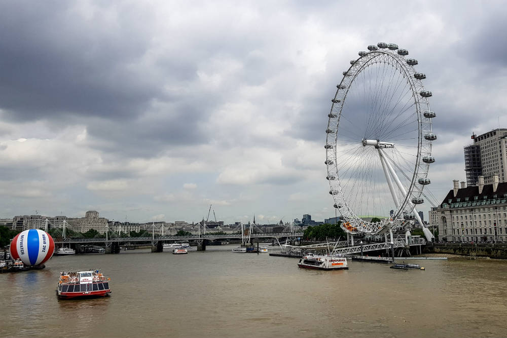 Recently I took Ollie and Lyle down to London for a day out. We spent the day seeing many of the city's main sights including the London Eye, thanks to 365Tickets