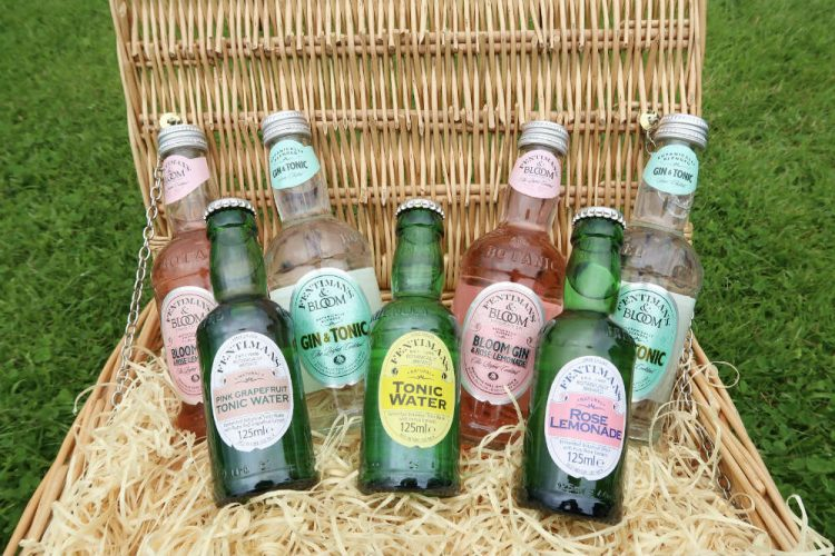 Fentimans range of pre-mixed gin drinks are a great option to have on hand for a summer picnic