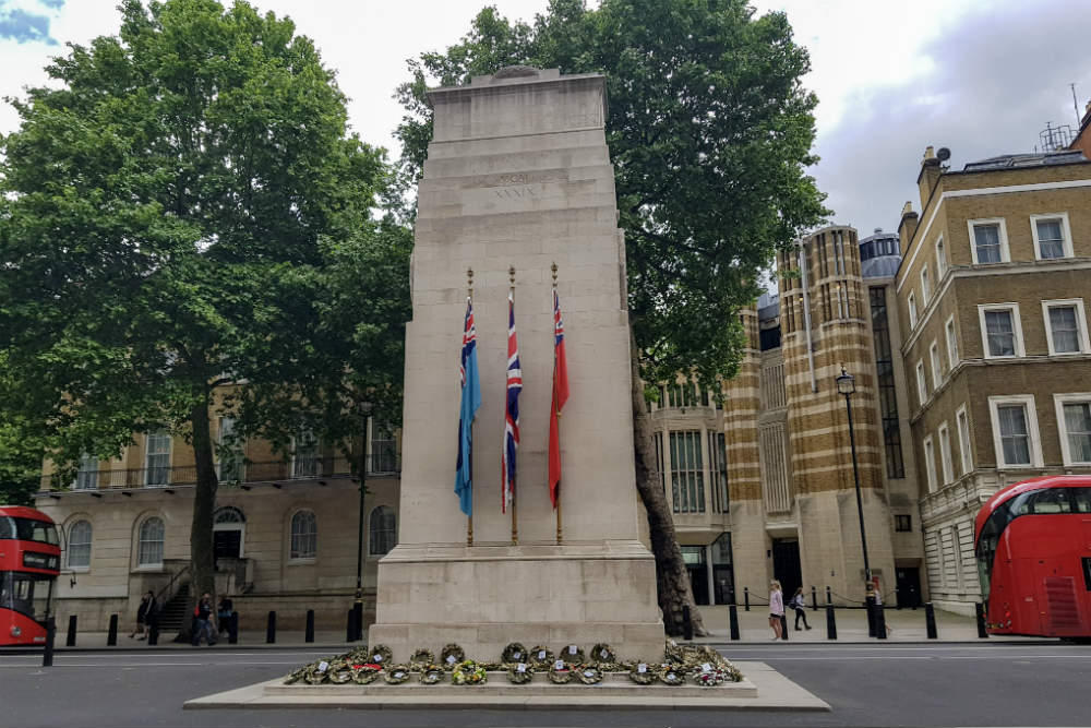 The Cenotaph memorial in London