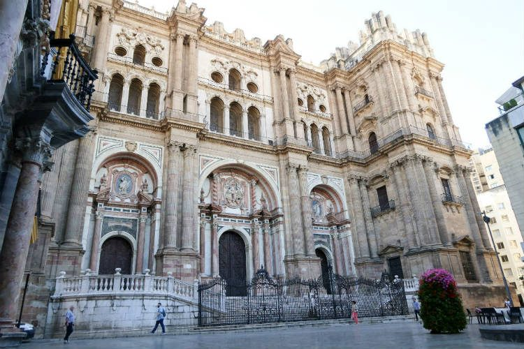 The unfinished cathedral in the heart of Malaga. I'd never really thought of visiting Malaga until recently. But after one weekend, I came home knowing that it won't be long til I visit again.