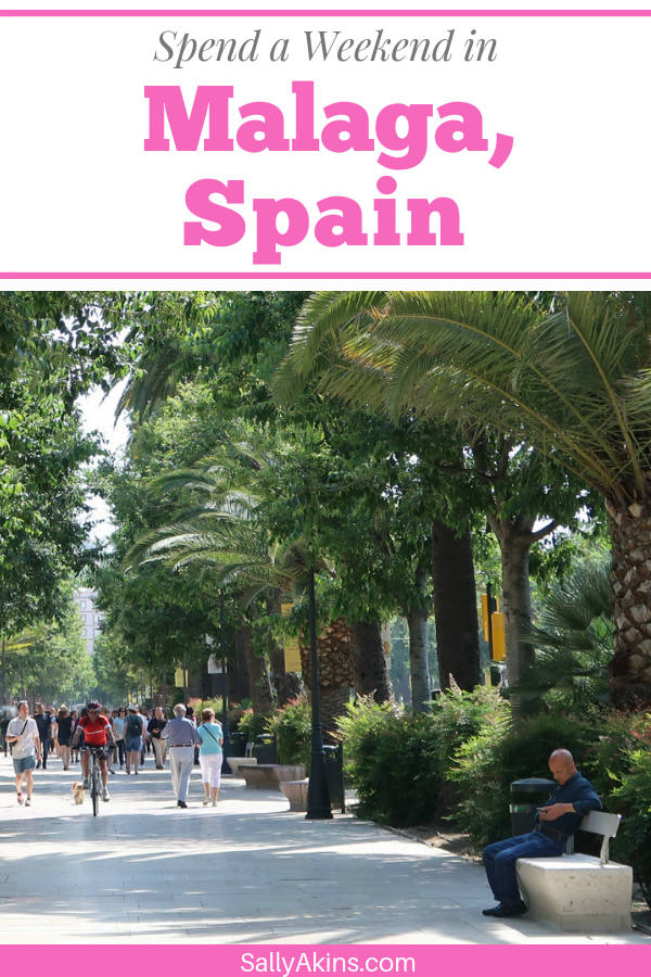 Discover how to spend a long weekend in the Andalusian city of Malaga, Spain #Malaga #Spain #CityBreak #Andalusia