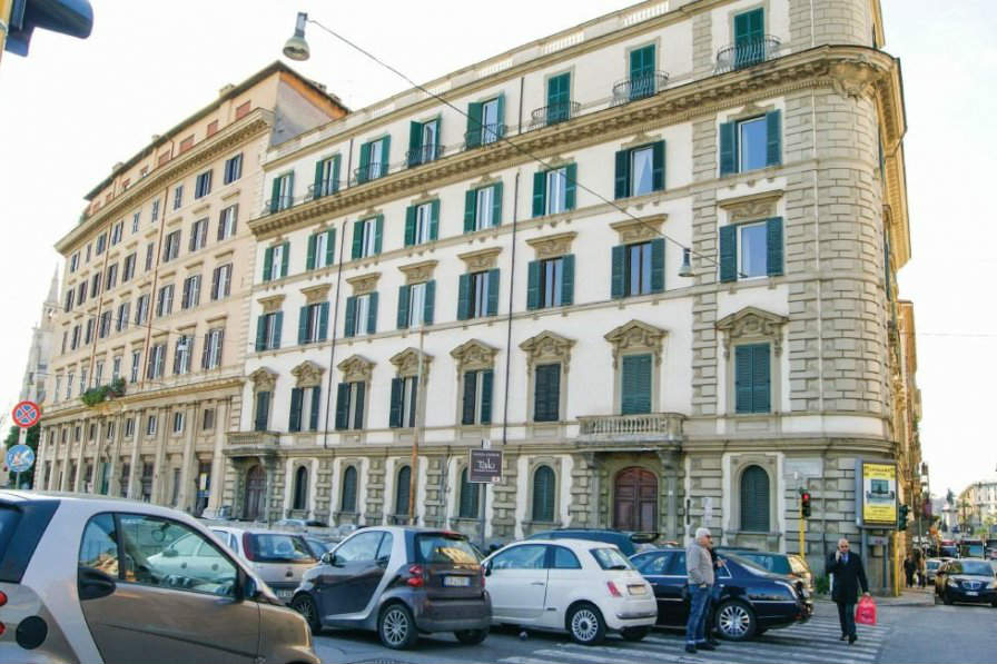 This elegant apartment in Rome is set less than a kilometre from St Peter's Square. You can book it through Clickstay