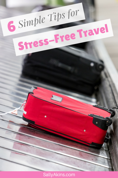 Flying off on your hols is great fun, but it comes with its own kind of stress. So here are some top tips for a stress-free getaway