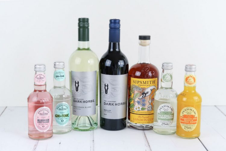 A selection of summer drinks, both alcoholic and non-alcoholic.