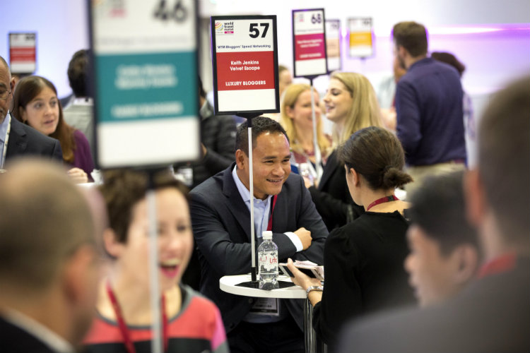 The Blogger Speed Networking session at World Travel Market - an excellent networking opportunity