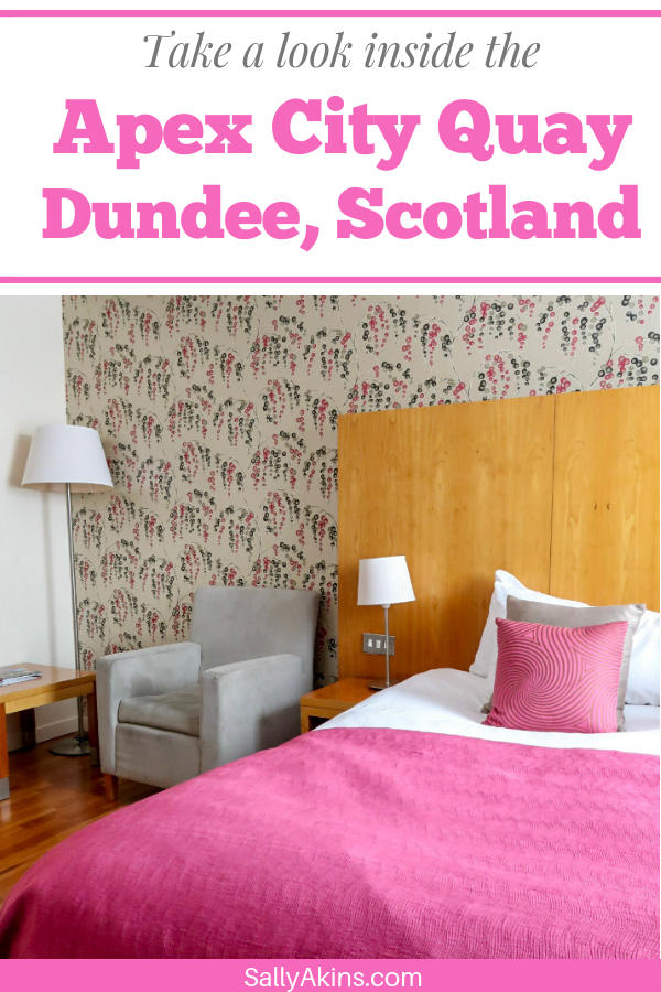The modern luxury of the @ApexHotels City Quay Hotel & Spa in Dundee makes it a great base for your visit to one of Scotland's coolest cities #review #Dundee #Scotland #hotelreview #citybreak