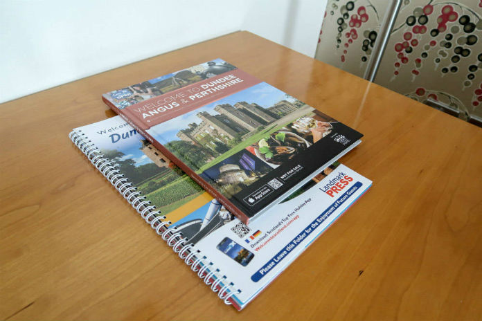 Local information, provided at the Apex City Quay Hotel & Spa in Dundee