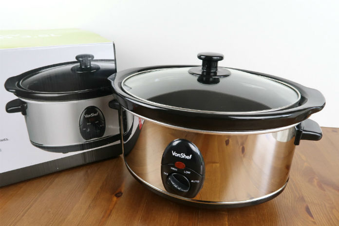 The VonShef 3.5l slow cooker