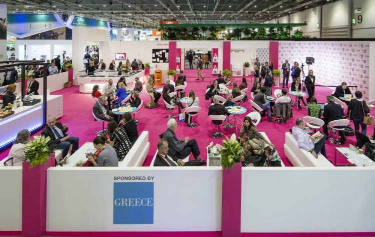 The press centre at World Travel Market, London