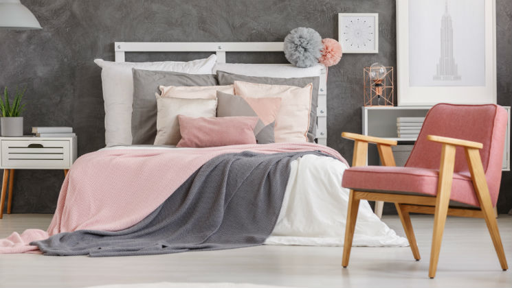 Winter is definitely here now, so here are some ways to give your bedroom a makeover for the darker nights (sponsored)