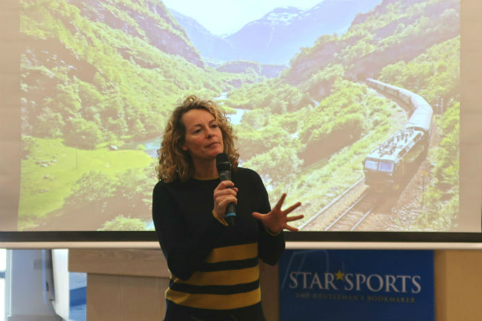 BBC TV presenter Kate Humble at the Inntravel Discovery Day 2017