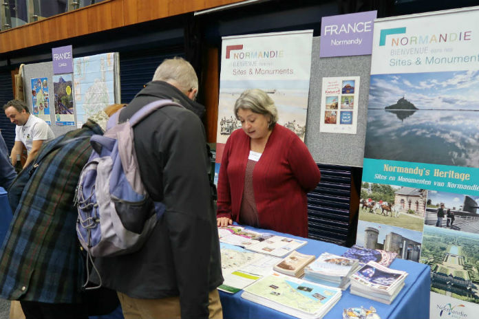 The Normandy stand at the Inntravel Discovery Day 2017