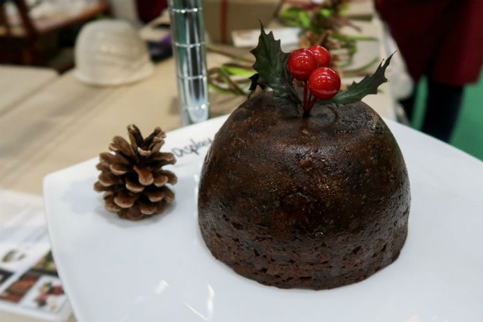 McLaren's Christmas Puddings at the BBC Good Food Show, at the Birmingham NEC, December 2017