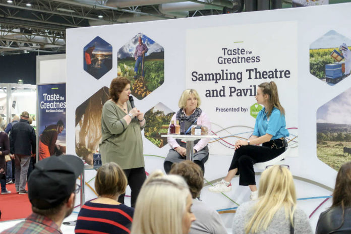 A taste of Northern Ireland at the BBC Good Food Show, at the Birmingham NEC, December 2017