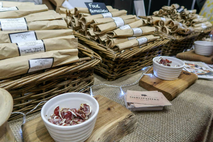 Shropshire Salumi at the BBC Good Food Show, at the Birmingham NEC, December 2017