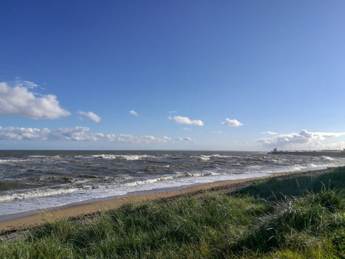 The beautiful seafront at Arbroath, just a few metres away from The Old Brewhouse hotel
