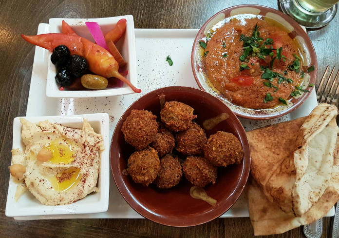 A Mezze brunch at Damascena in Birmingham