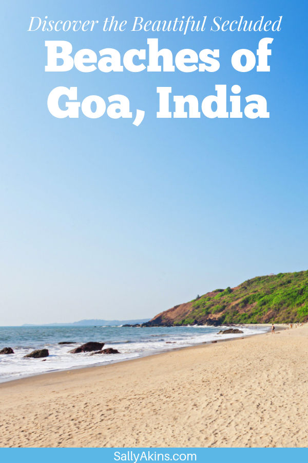 If you're planning a visit to Goa, India, but want to be able to escape the crowds for a while, take a look at these stunning secluded beaches #travel #beaches #holiday #Goa #India
