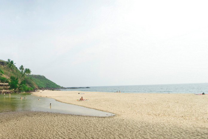 Betul Beach in Goa, India